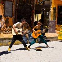 Боливия 2012, Копакабана.Уличные музыканты. :: Олег Трифонов