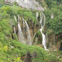 Классический вид на водопады Плитвицких озер :: Светлана Игнатьева