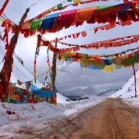 Разноцветный перевал. :: Крис Ван дер Вальке