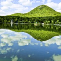 Озеро в Железноводске :: Константин Лабудя