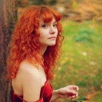 Дарья затаилась :: Polina Sladkova