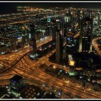Вид на Дубай с самого высокого здания мира Бурдж Халифа :: Евгений Печенин