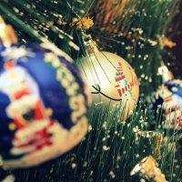 Новогодние игрушки... :: Анастасия Шаехова