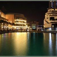 Фрагмент фонтана в Дубае :: Евгений Печенин