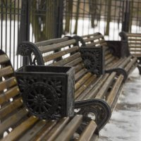 парковые скамейки :: Александр Шурпаков