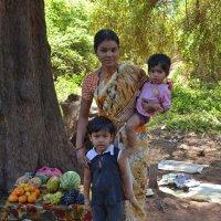 2012 год. Индия. Мать и дети. Судьба: выжить, воспитать и выучить детей :: Владимир Шибинский