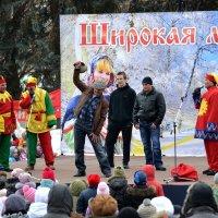 Широкая масленица - 2013. Выходят на арену силачи... :: Борис Русаков