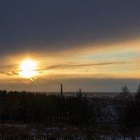 Утро в новосибирском Планетарии :: Антон Ильяшенко