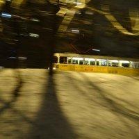 Ночной трамвай :: Александр Лебедев
