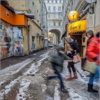 Зима в городе :: Наталья Rosenwasser