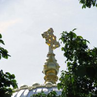 крест на Морском соборе в Питере :: Наталья