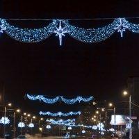 ночная дорога в городе :: Аркадий Русанов