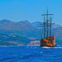 Пиратский корабль :: Вера Бережная