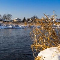 Зима,речушка,красота! :: Алексей. Бордовский