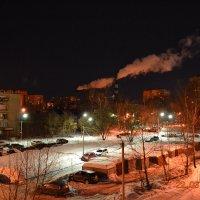 Ночной двор :: Юлия Каленюк