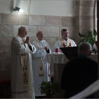 Служба в церкви Доминус Флевит. Масличная гора, Иерусалим. :: Lmark