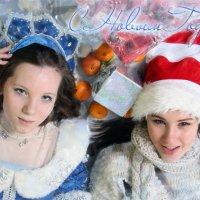 Новогодняя открытка :: Мария Шумаева