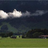 Облако в долине :: Виктория Иванова