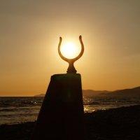 закат на средиземном море :: Олеся Дашковская
