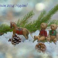 Новогоднее... :: Марина Соколова
