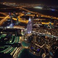 Вид с Бурдж Халифа...Дубай...ОАЭ... :: Александр Вивчарик