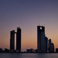 Закат в Персидском заливе... :: Александр Вивчарик
