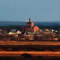 церковь. расстояние съемки- 5650 метров. :: Вадим Виловатый
