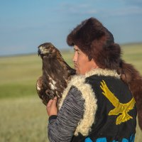 Охота с беркутами :: Максим Рожин