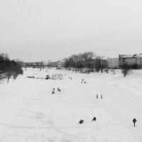 Зимний пейзаж :: Владимир Ненартонис