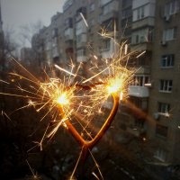 бенгальский огонь :: Irina