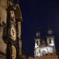 Астроноимческие часы на Староместской. :: nataliya korchma