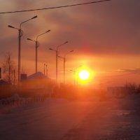морозный вечер,-35. :: Лариса Красноперова