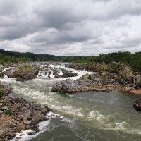США. Большие Водопады на реке Потомак (штат Вирджиния) :: Виктория