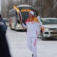 Олимпийский огонь в Шадринске :: Ольга Якименко