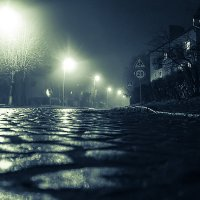 Ночь. Улица. Туман :: Наталья Наумова