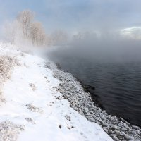 не замерзающее озеро :: валерий киреев