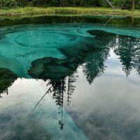 Голубое озеро :: Виктор Ковчин