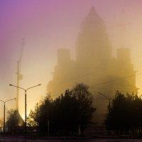 Храм в тумане :: Александр Хвостов