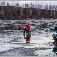 Рыбалка на льду :: Сергей Винтовкин
