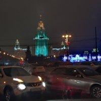 моя столица ночная москва :: юрий макаров