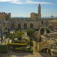 Иерусалим. Внутренний двор музея Иерусалима в башне Давида. :: Игорь Герман