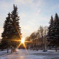 Закат на ул.Весенней :: Александр Ломов