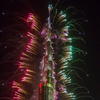 Новогодняя елка в Дубае :: Kogint Анатолий