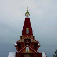 Церковь в Лесной поляне, городе спутнике г.Кемерово. :: Александр Ломов