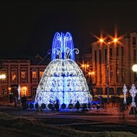 Световой фонтан :: Марина Назарова