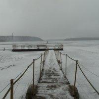 На зимнюю рыбалку сюда :: jenia77 Миронюк Женя