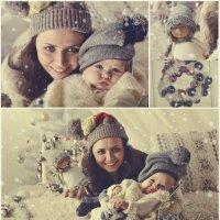 Милаша и мама :: Анастасия Бобровская