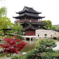 Китай. Сады Сучжоу. Паньмень. :: Виктория