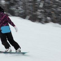 На сноуборде с гор :: Дмитрий Арсеньев
