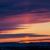 нежный закат :: Арина Михайлова